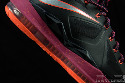 lebron10 floridians 45 web black The Showcase: Nike LeBron X Miami Floridians Throwback