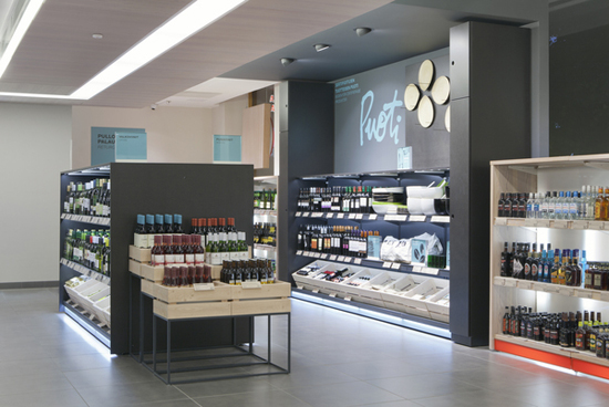 led beleuchtung im supermarkt ALKO