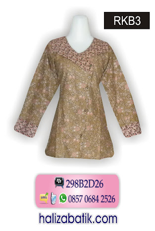 grosir batik pekalongan, Busana Batik Wanita, Batik Modern, Baju Batik