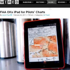 [Internacional] Pilotos trocam os mapas em papel pelo iPad em aviões nos EUA  01zipadaviao