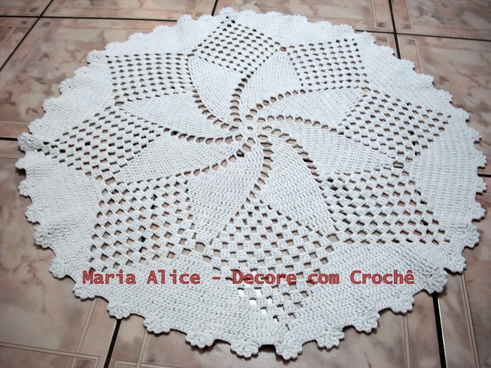 Absoluta Croch 2013 -> Tapete De Croche Redondo Passo A Passo