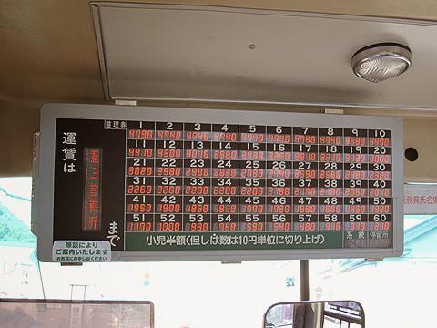 阿寒バス「釧路羅臼線」・・16 運賃表 その3