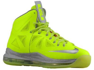 nike lebron 10 gr atomic volt grey 1 01 New Nike LeBron X Volt / Grey Colorway Slated for 2013
