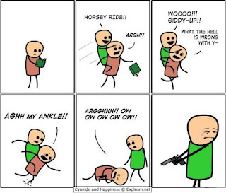 cyanide and hapiness horsie comic