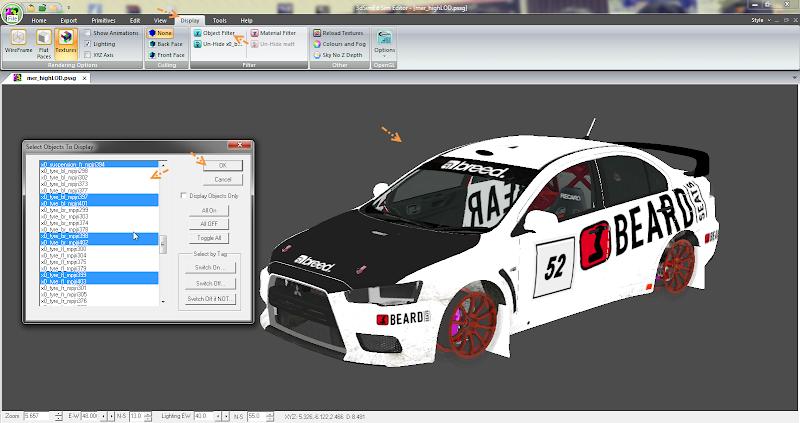 การเพิ่มลายรถใหม่ลงไปใน DiRT 3 และการทำภาพ Tiles ของรถ Newcar22