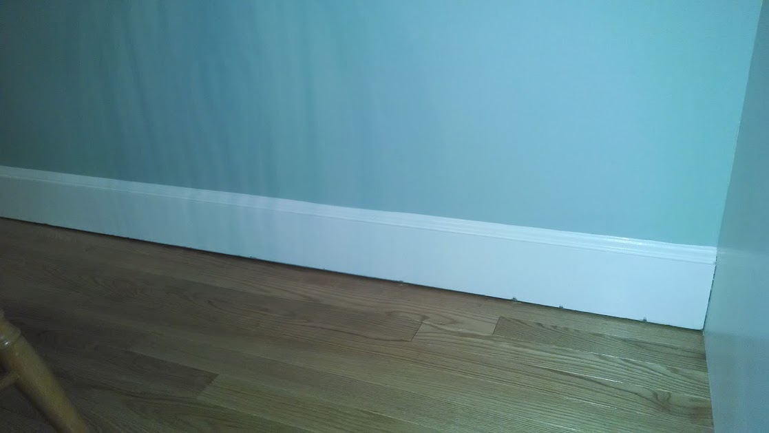 Large Gap Between Baseboard And Floor Doityourself Com