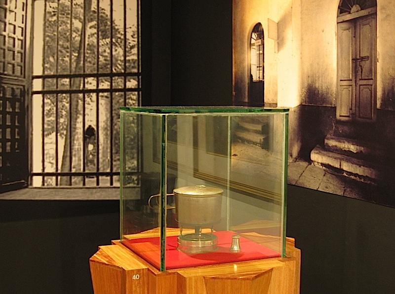 alcohol burner where Jose Rizal's Mi Ultimo Adios was found