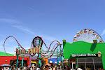 Mini-Freizeitpark auf dem Santa Monica Pier