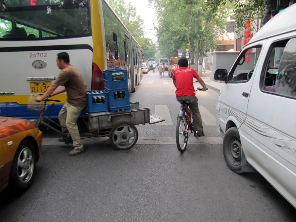 Bicycling in Beijing
