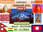 NEPAL HIMALAJE 2012 Mustang část 2