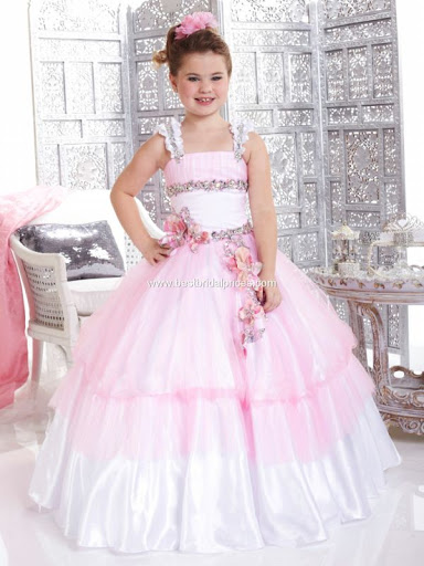 Die super hot Ballkleid Square bodenlangen Flower Girl 2013