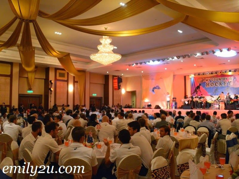 Sultan Azlan Shah Cup official dinner
