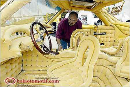 cool lowrider interior