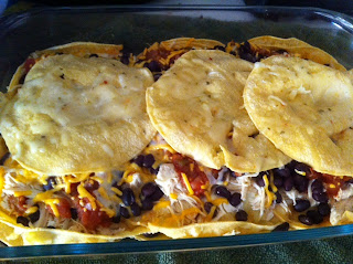 Corn Tortilla Chicken Lasagna