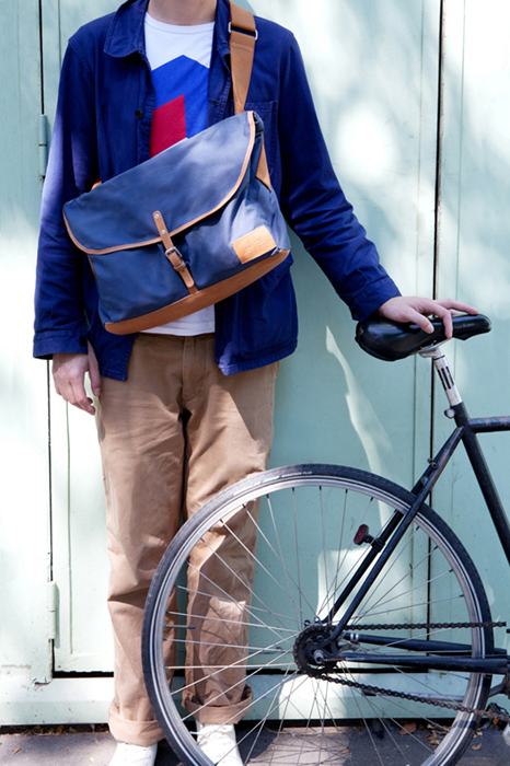 Sustainable Bags by Veja: the Factuer Bag [men's fashion]
