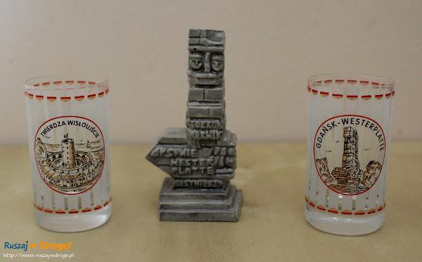 kolejne kieliszki z Gdańska do kolekcji