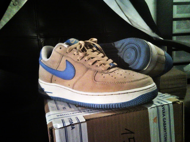 super popular 0536b 67646 S Nike Air Force One low XXV 2007 linen 9us vnds