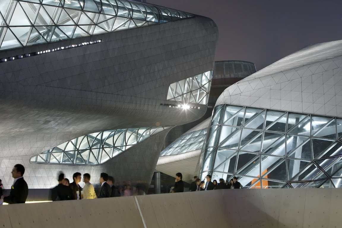 Guangzhou Opera House design by ZAHA HADID Architect