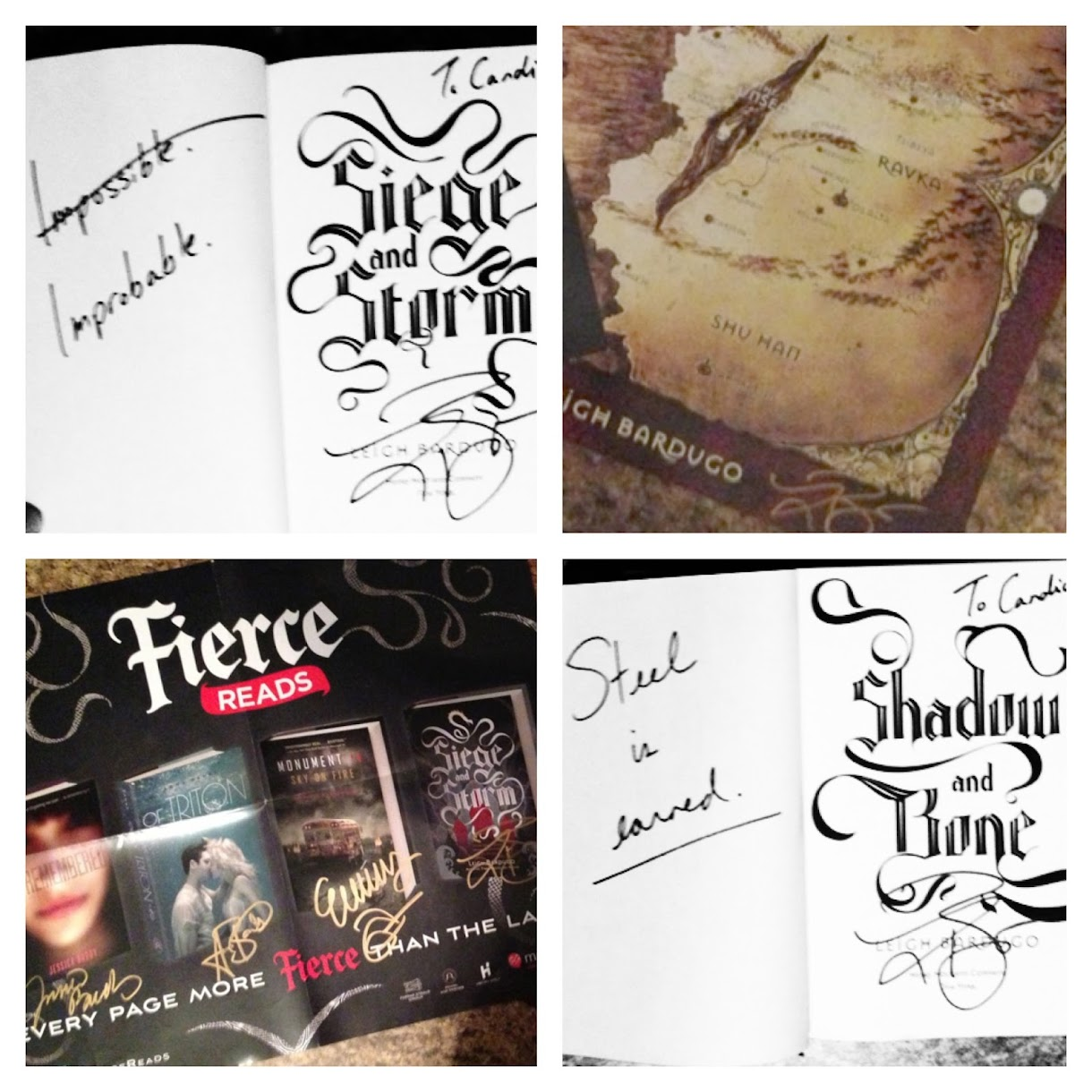 Fierce Reads Signed Books
