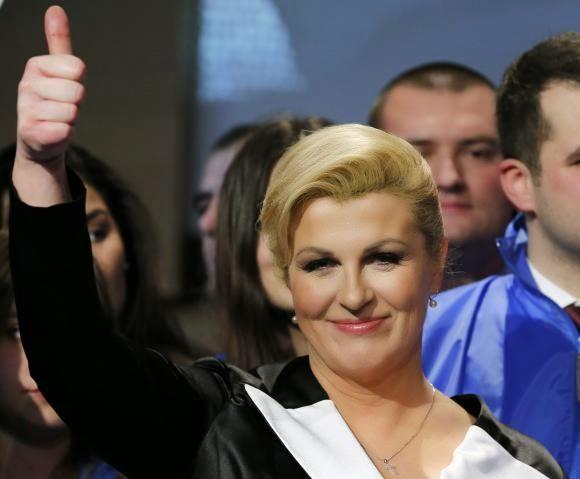 عالمي: رئيسة كرواتيا الجديدة.. جميلة وتتقن لغات 11-Kolinda-Grabar-Ki