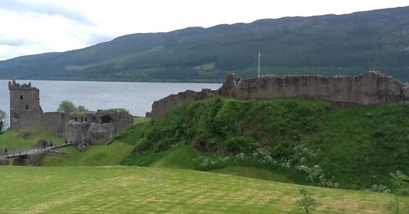 Nordsoruten De To Pa Hjul 21 Juni Tur Pa Loch Ness