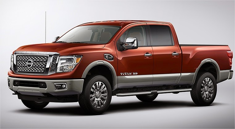 2016 Nissan Titan Cummins Diesel | Towing Capacity