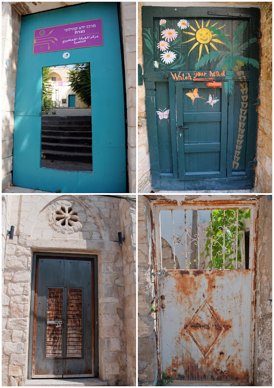 doors in Nazareth, old city