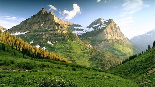 Natural Grandeur, Glacier National Park, Montana.jpg