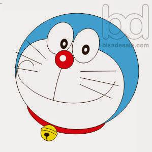 Gambar 07. Menggambar Doraemon dengan Corel Draw