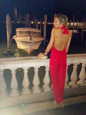 Red Jumpsuit - Venezia