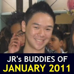 JR's Buddies of January 2011