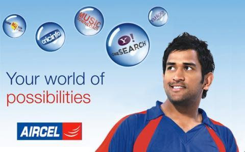 Sachin Tendulkar for Aircel ad