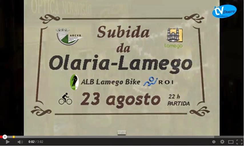 Subida da Olaria - Ciclismo em Lamego - Vídeo