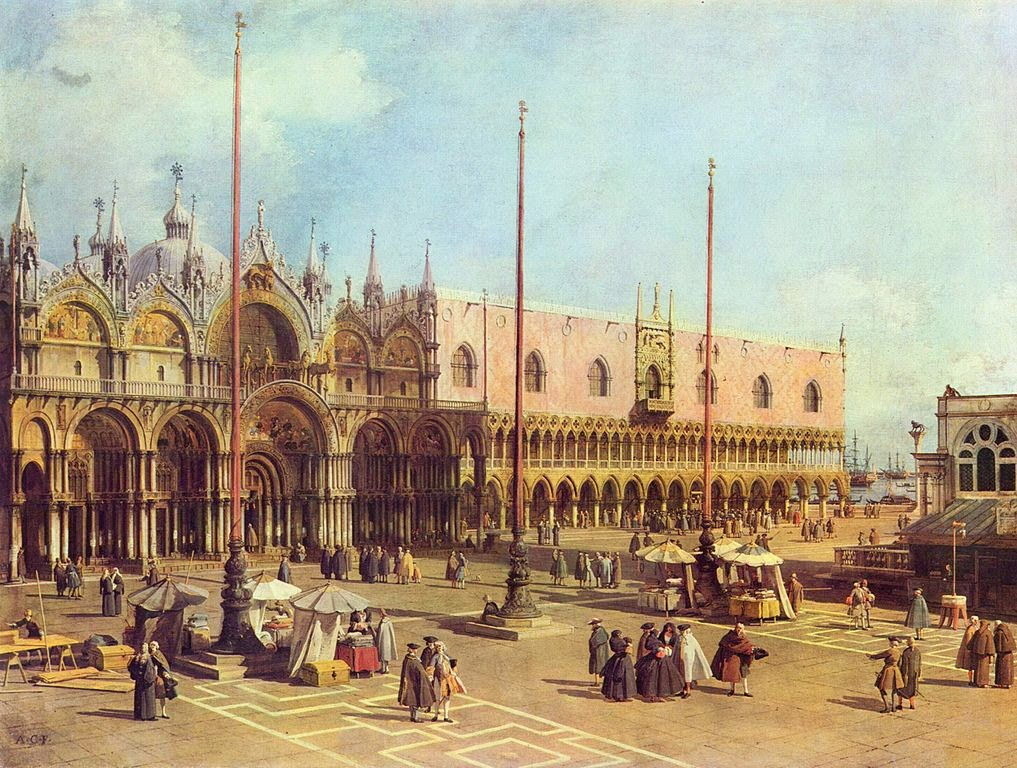 Canaletto - Piazza San Marco (San Marco Square)