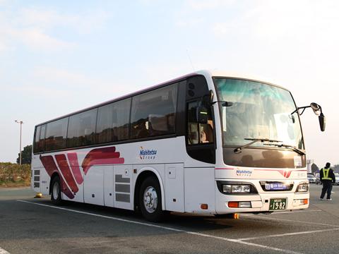 西鉄高速バス「桜島号」 6021 北熊本SAにて