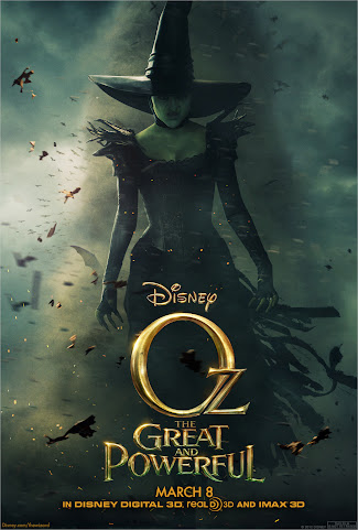 2013 Disney Movies: Oz The Great And Powerful with James Franco and Milla Kunis