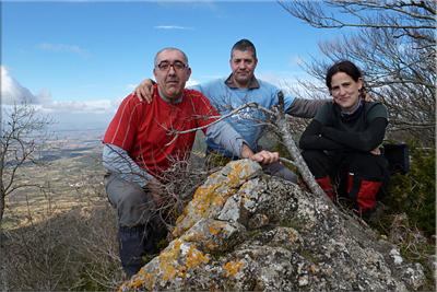 Artxabal mendiaren gailurra 1.172 m.  --  2013ko martxoaren 24an