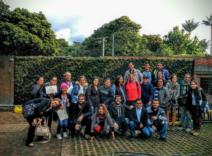Curso de jardines verticales Colombia