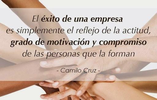 el éxito de una empresa, Camilo Cruz