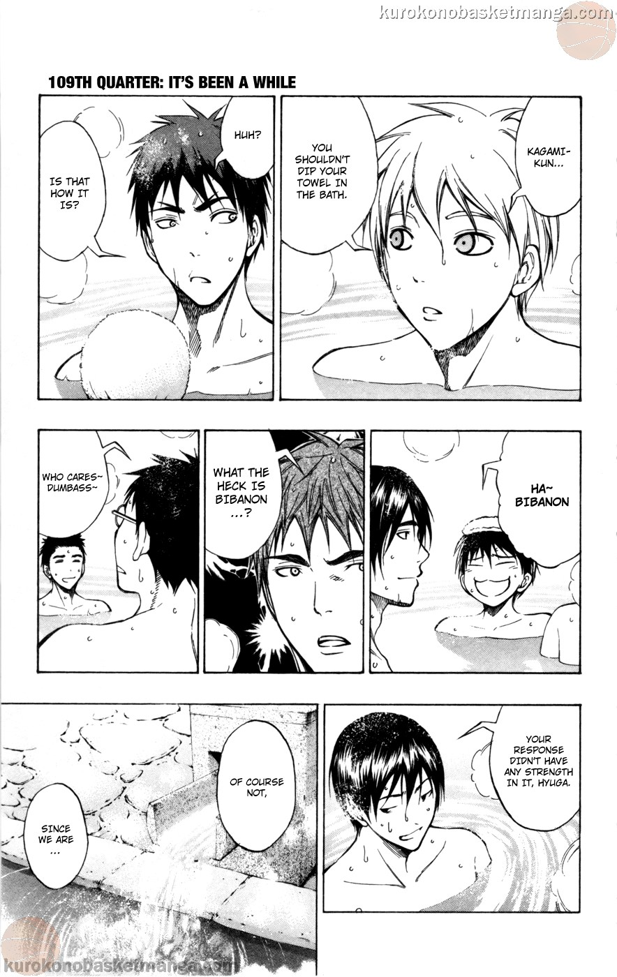 Kuroko no Basket Manga Chapter 109 - Image 05