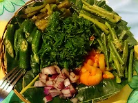Batanes Food - Fern Salad