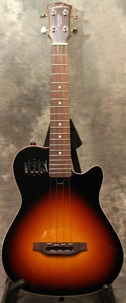 Godin multiuke Sunburst Tenor ukulele
