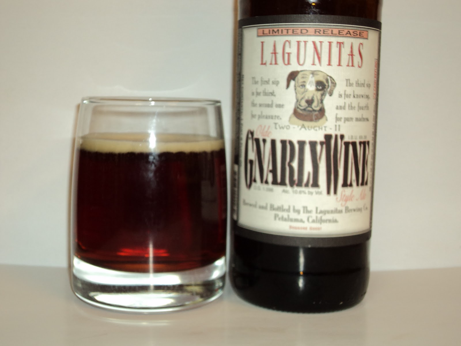 Water + Malt + Hops + Yeast = Beer: Lagunitas - IPA and