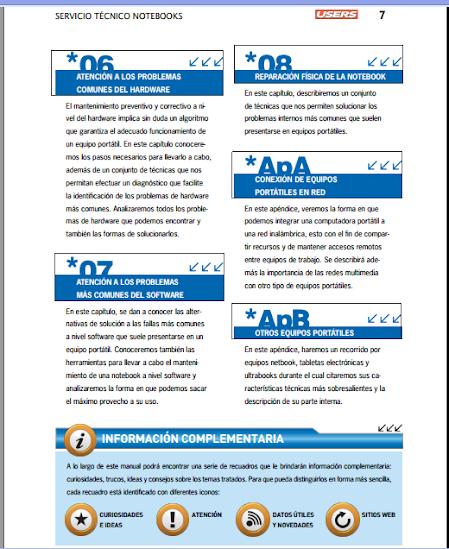 Servicio Técnico - Notebooks [Libro] Aprende a reparar tu notebook! Servicio-3