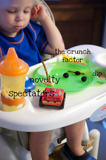 Dissection of a toddler lunch