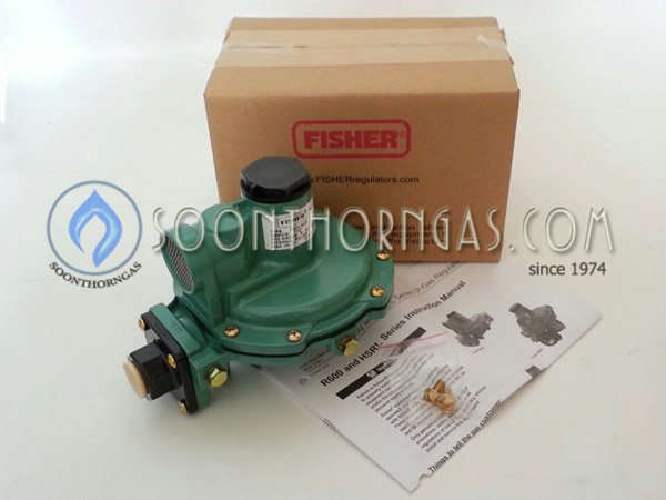 LOW-PRESSURE REGULATOR FISHER รุ่น FS 622BCF