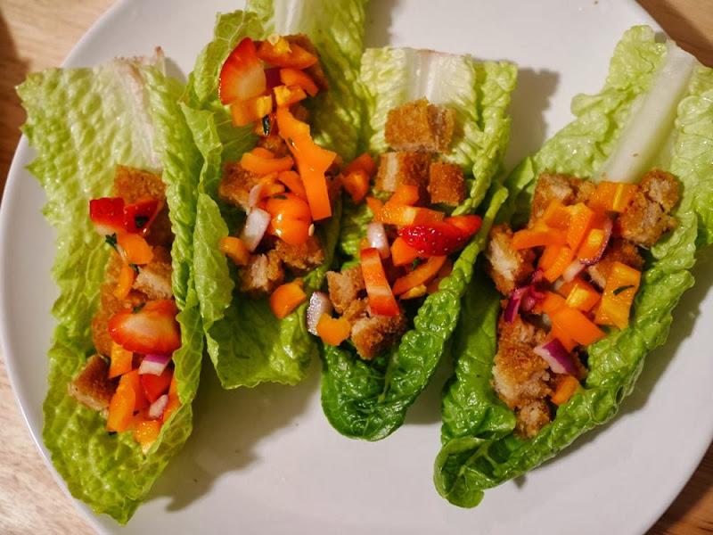 Veggie Chik Lettuce Cup