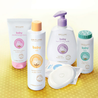 Oriflame's baby skin care collection UK 2013