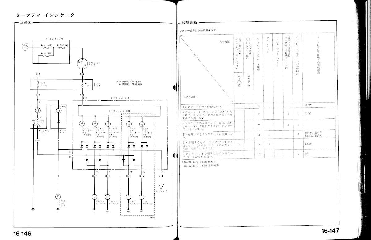 Ef Civic Wiring Diagram For My Trunk 1992 Honda Fuse Diy 92 95 Jdm Door Open Gauge Cluster Indicator Light Rh Tech Com