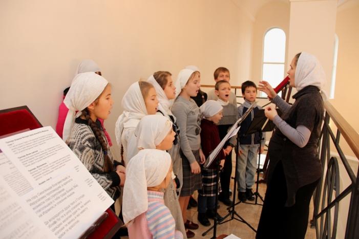 Детская литургия на кафедральном соборе